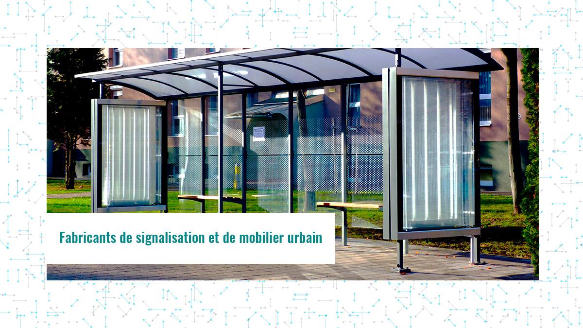 Fabricants de signalisation et de mobilier urbain