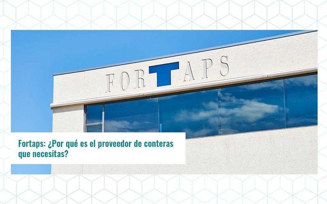 Fortaps: ¿Por qué es el proveedor de conteras que necesitas?