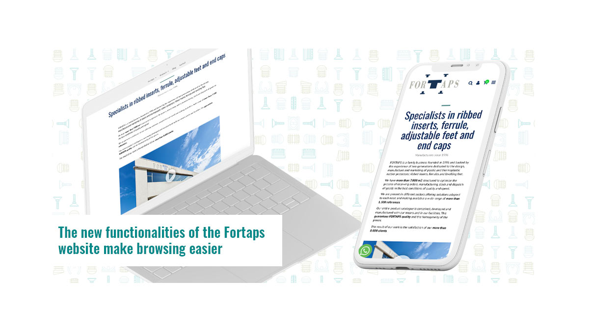 The new functionalities of the Fortaps website make browsing easier