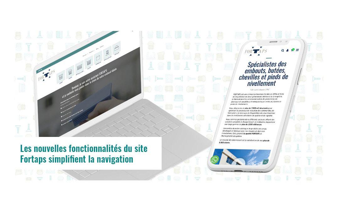 Les nouvelles fonctionnalités du site Fortaps simplifient la navigation