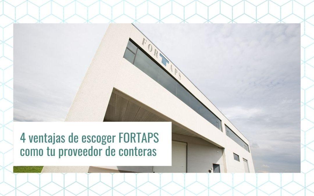 4 ventajas de escoger FORTAPS como tu proveedor de conteras