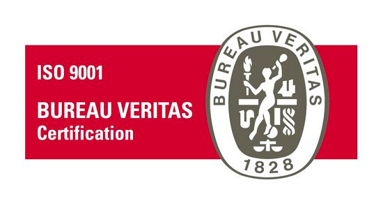 ISO 9001 - Certified by Bureau Veritas