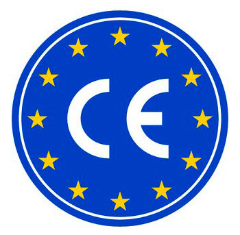 CE marked by the European Union